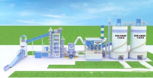 Su Steel 300,000 tons of iron slag powder production line project renderings.jpg
