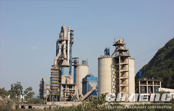 Key benefits for CHAENG cement plant machine